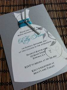 17 best images about wedding dress invitation on pinterest With wedding dress cut out bridal shower invitations
