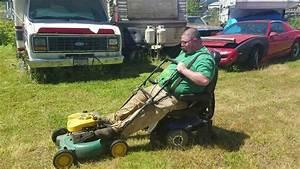 Redneck Riding Lawn Mower