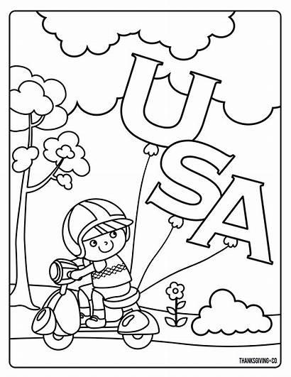 Presidents Coloring Printable Hat Usa Patriotic Preschool