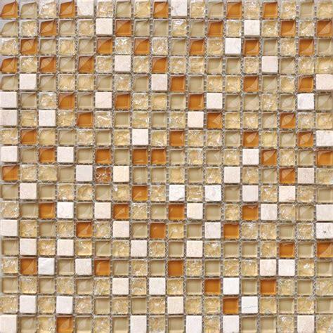wholesale mosaic tile sheet square brown