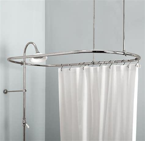 free standing curtain rod furniture ideas deltaangelgroup
