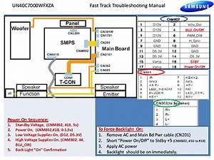 Samsung Un40c7000wfxza Fast Track Guide Service Manual