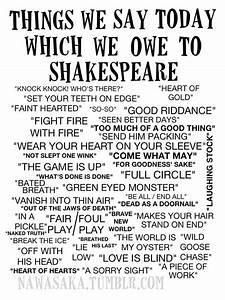 Phrases We Owe To Shakespeare A Delightfully Blunt