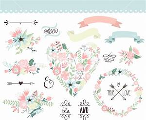 19 floral wedding vector images free flower vector With wedding invitation flower clipart free