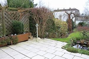 Garten Günstig Einzäunen : terrasse mit gartenst ck einz unen katzen forum ~ Michelbontemps.com Haus und Dekorationen