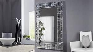 Grand Miroir Design : grand miroir moderne design avec facettes 180 cm easton gdegdesign ~ Teatrodelosmanantiales.com Idées de Décoration