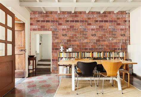 interior brick wall brick wall murals interior design ideas pictowall