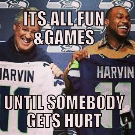 Seattle Meme - seattle seahawks percy harvin injury nfl memes nfl memes pinterest seattle
