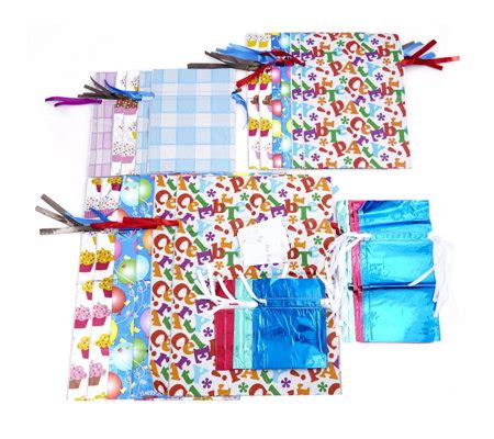 christmas gufts for desk mates gift mate 30 everyday gift wrap set page 1 qvc uk