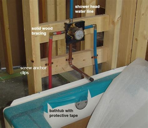 Vanity Drain Height For Rough In by Plumbing In The Walls