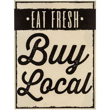 eat fresh buy local mdf wood sign for the home buy local wood signs and woods