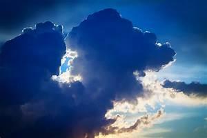 Dark, Blue, Clouds, Free, Stock, Photo