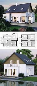 Häuser Im Landhausstil : modernes einfamilienhaus im landhausstil grundriss mit satteldach architektur ~ Yasmunasinghe.com Haus und Dekorationen