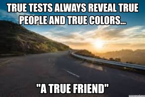 True Friend Meme - true friend
