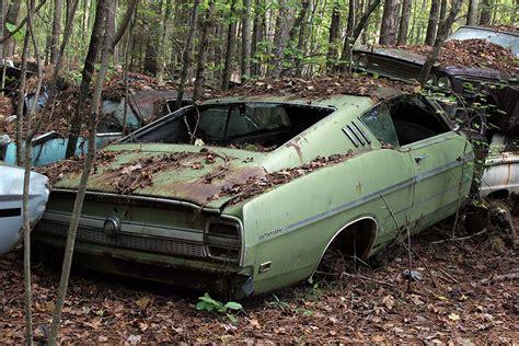 abandoned autos  full  abandoned muscle cars