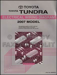 200toyota Tundra Wiring Diagram Manual Original