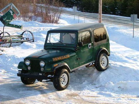 barnier  jeep cj specs  modification info