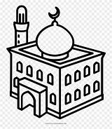Mosque Coloring Masjid Drawing Colouring Clipart Getcolorings Outline Clip Line Temple Dome Pinclipart Webstockreview Kindpng Views Copyright Entrance sketch template