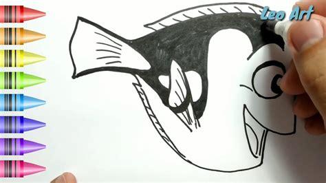 gambar ikan badut untuk mewarnai
