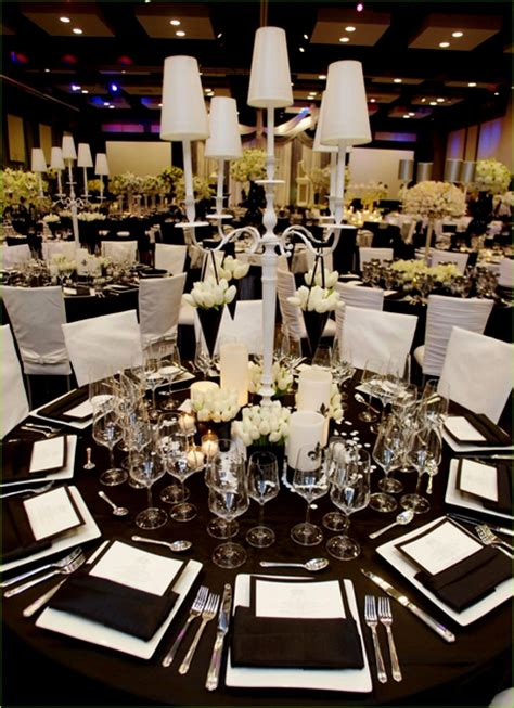 black white and silver wedding reception ideas reception decoration ideas 2018