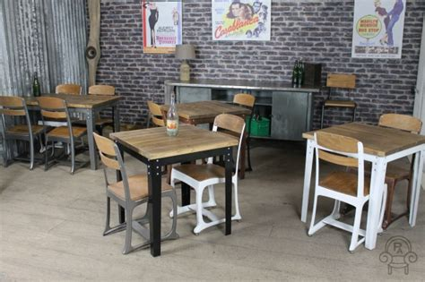 table cuisine retro vintage inspired kitchen tables industrial style