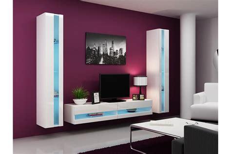 meuble mural chambre ensemble meuble tv mural olermo design