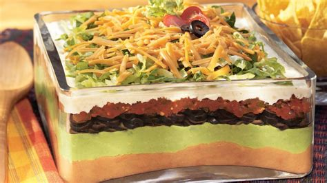 layered dip 7 layer mexican dip recipe