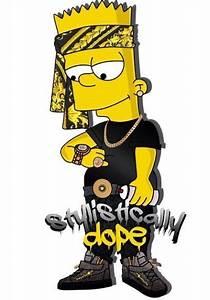 Bart Simpson Supreme Gun