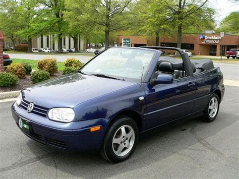 volkswagen convertible 2000 sell used 2000 vw convertible only 49 000 miles every