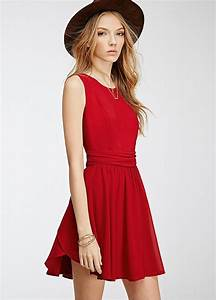 Casual Red Summer Dress Styling Ideas – Designers Outfits ...