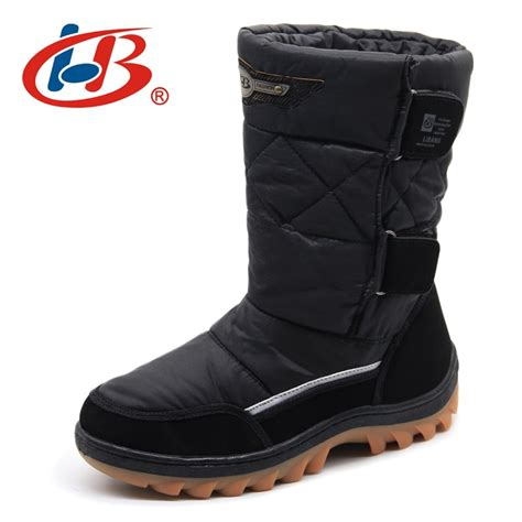 Libang Brand Men Winter Shoes Warm Male Boots