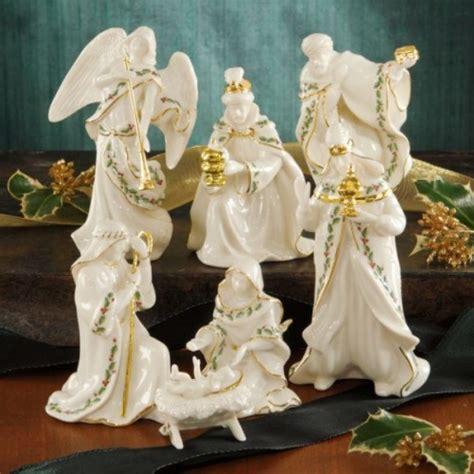 lenox china patterns platinum lenox miniature nativity set