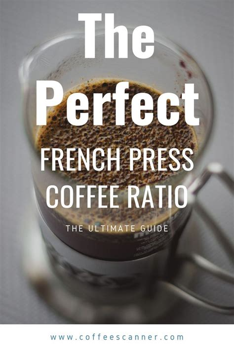French press coffee to water ratio. In this post we explore what the perfect french press ...