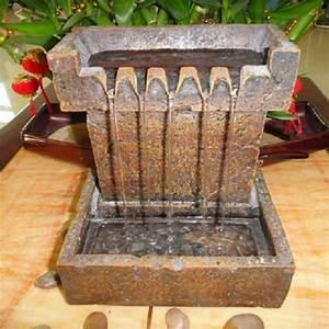 mini fontaine d39interieur avec 5 ecoulements d39eau sur With mini fontaine d interieur