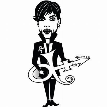 Prince Caricature Celebrity Vector Vectors Musician Artist