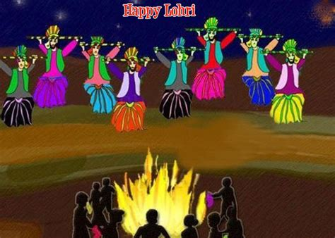 happy lohri images  wallpapers