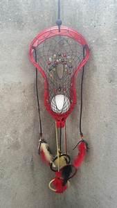 Lacrosse themed dream catcher @dreamweaverhandcrafted ...