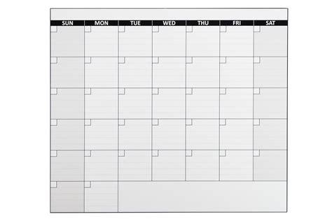 Large One Month Calendar Magnet
