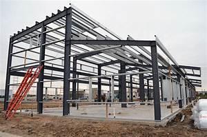 Best Of Steel : the foundation is poured and the steel structure is up ~ Frokenaadalensverden.com Haus und Dekorationen