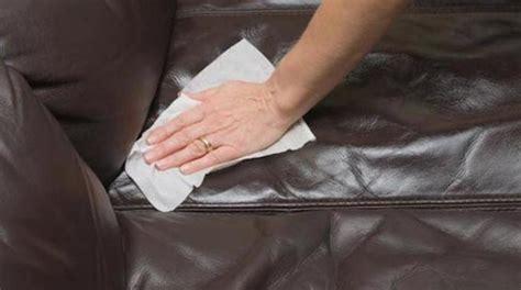 l astuce pour nettoyer facilement un canap 233 en cuir
