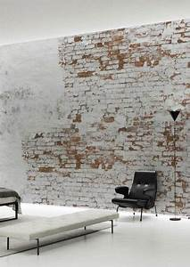 Tapete Altes Mauerwerk : create an elegant statement with a white brick wall decoration pinterest strukturierte ~ Markanthonyermac.com Haus und Dekorationen