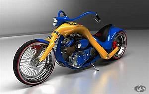 3D Bikes - Cool Chopper Concepts - XciteFun.net