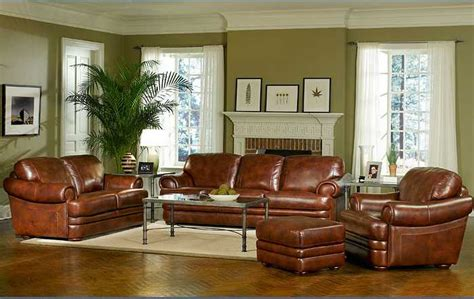 Brown Leather Living Room Ideas by Traditional Living Room Furniture Home Design Scrappy
