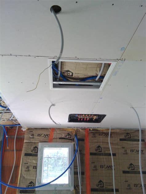 plafond plus pose trappe de visite plus nourrice notre maison mikit 63