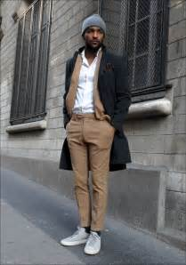 Fashion Men Suit with Sneakers