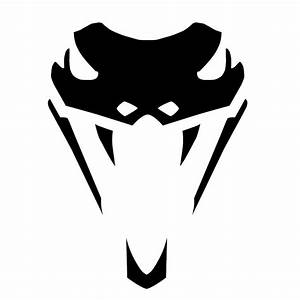 10*13.4CM Viper Snake Head Fashion Car Window Decal Vinyl ...