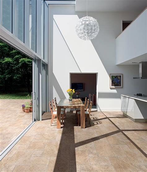 quel carrelage pour agrandir visuellement la terrasse carrelage interieur exterieur identique