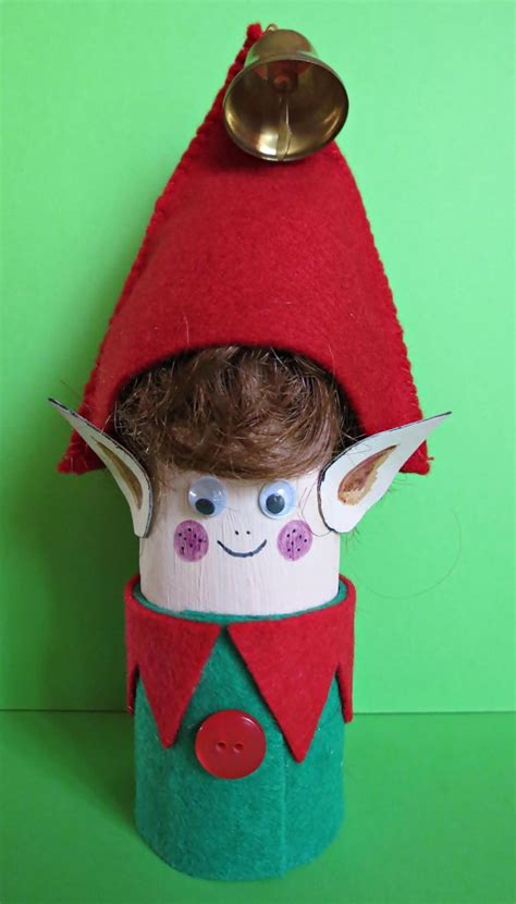 elf toilet paper roll craft favecraftscom