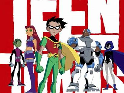 Titans Teen Cartoon Network Series Characters Manof2moro