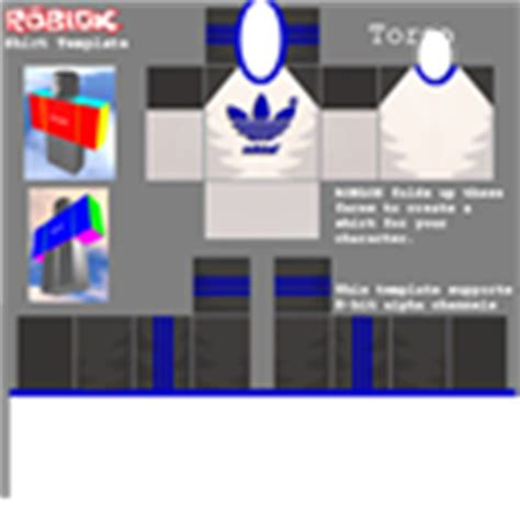 adidas shirt template roblox